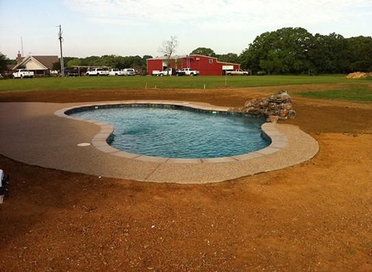 Nice pool with beautiful edge tiles